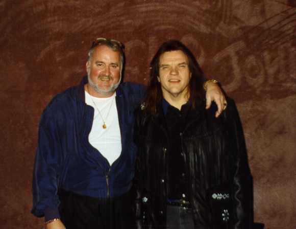 Ron Herbert and Meatloaf