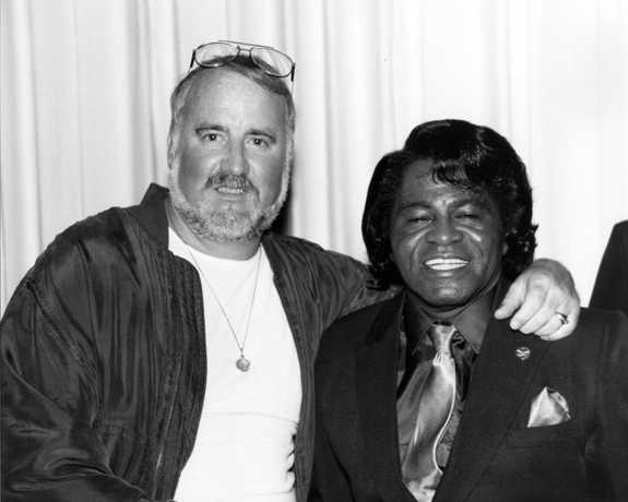 Ron Herbert and James Brown